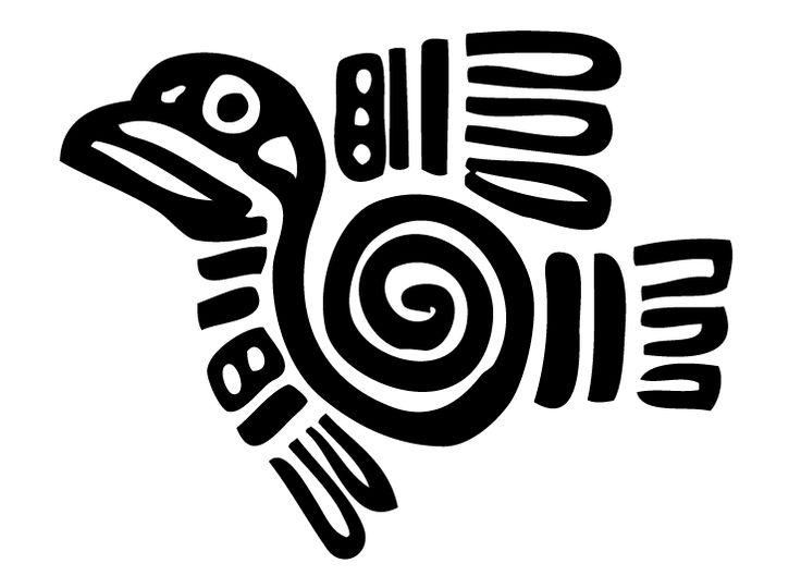 Arte Azteca Print Pinterest Aztec Stenciling And Symbols