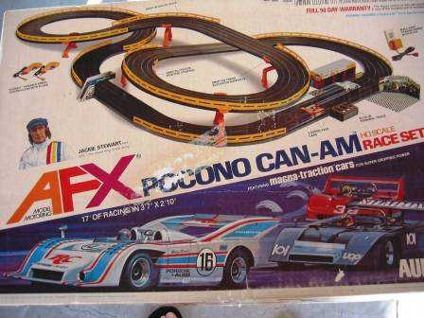 Aurora AFX Slot Cars-I have this one-memories...