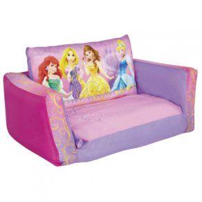 Barnmöbler - Disney - Disney Prinsessor Soffa - Rosa