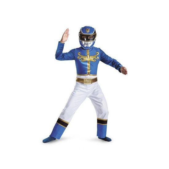 Blue Ranger kostuum voor jongens. Ga verkleed als een Power Ranger met dit gave kostuum! Bestaat uit een jumpsuit en masker. Geschikt voor kinderen van ongeveer 4-6 jaar oud. Carnavalskleding 2015 #carnaval