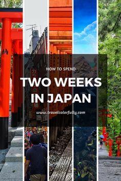 How To Spend Two Weeks In Japan exploring Tokyo, Hakone, Osaka, Kobe, and Kyoto!