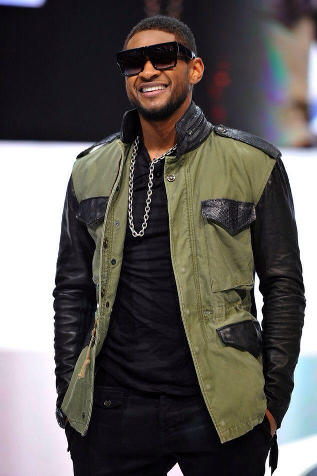 Usher fashion