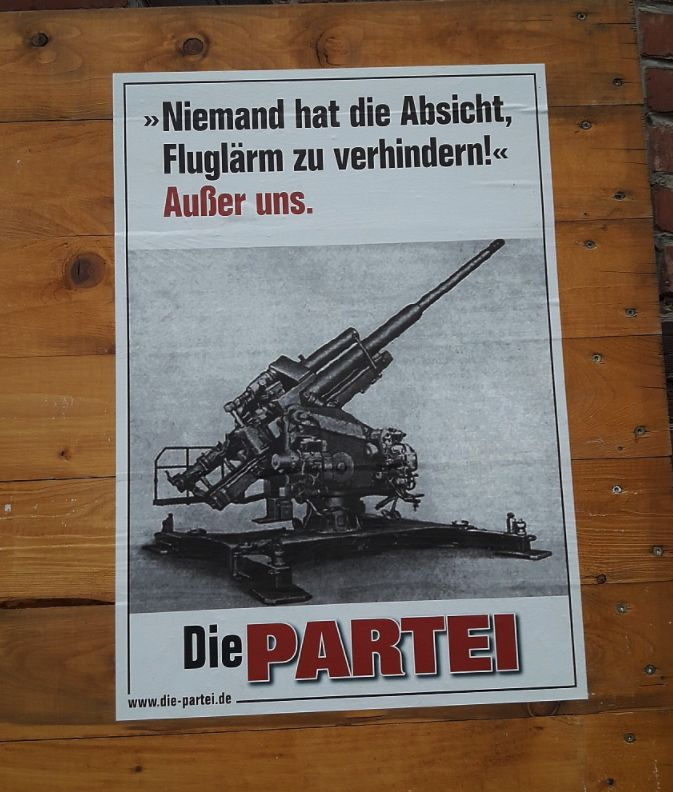21 Beweise, dass DIE PARTEI die lustigsten Wahlplakate Deutschla… der Welt hat – Eigenes Gerät