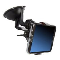 """Go Hands-Free with this premium quality """"One Touch Quick Release"""" Mount Holder that fits almost any device, cell phones, iPods, iPhones, PDAs, Smartphones, GPS, Portable Navigation, MP3 Players and more. STRONG GRIP and SECURE MOUNTS. http://mylinksentry.com/fj91"""