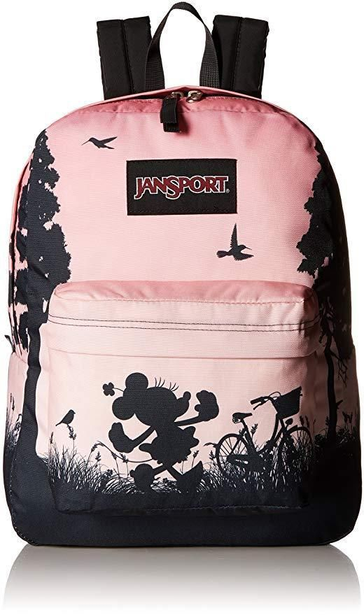 JanSport Disney High Stakes Super Cute Minnie Mouse Backpack