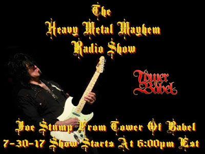 The Heavy Metal Mayhem Radio Show: Tom Innamorato Of Warhead/American Mafia & Joe Stu...
