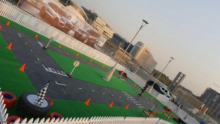 Roof - Kiddies Race Track