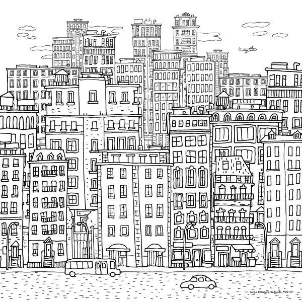 Sand City Illustrations | Abduzeedo Design Inspiration