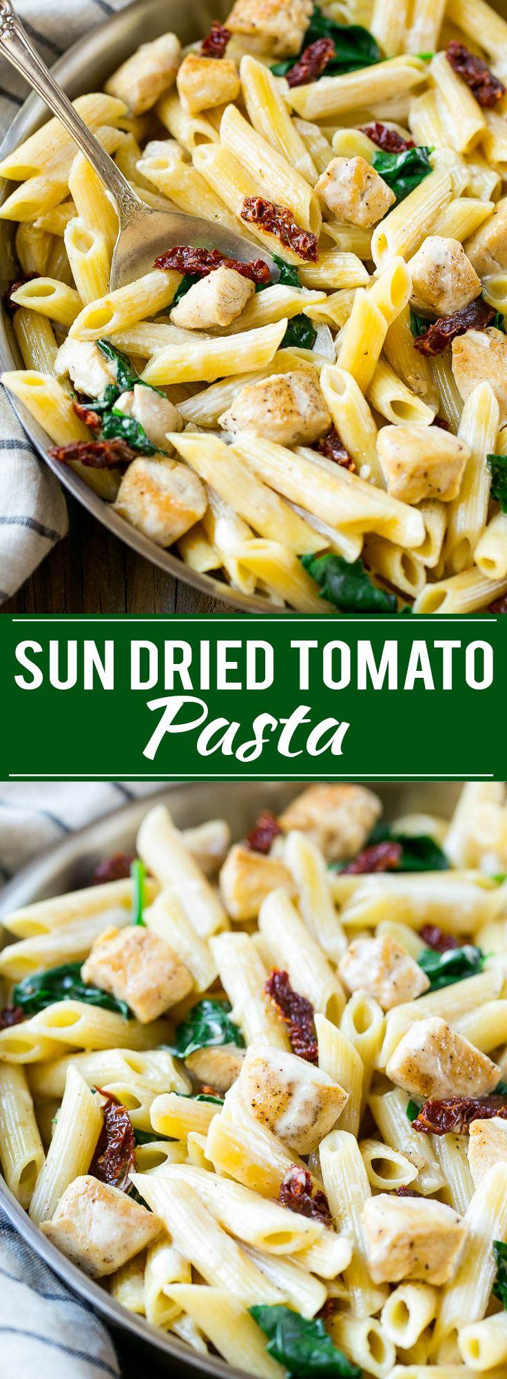 Sun Dried Tomato Pasta
