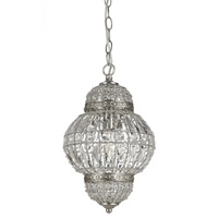 Moroccan inspired chandelier