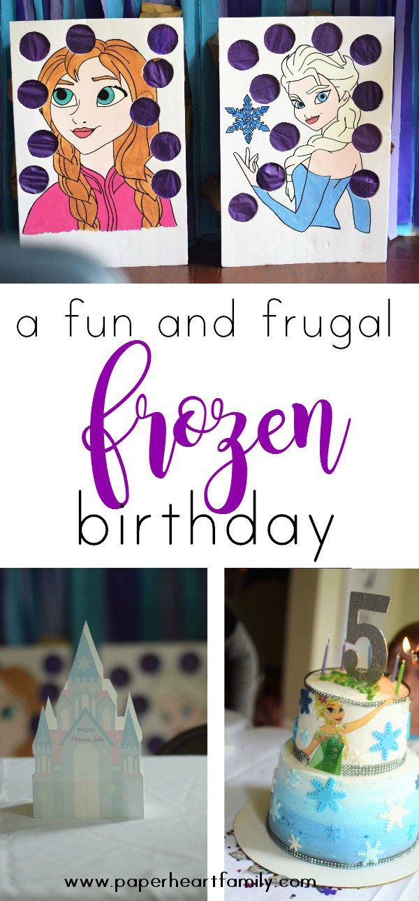 Is your little girl an Elsa fan who watches the Frozen movie constantly? Through your little princess an epic Frozen birthday party! Get the best ideas for a DIY party that won't break the bank!