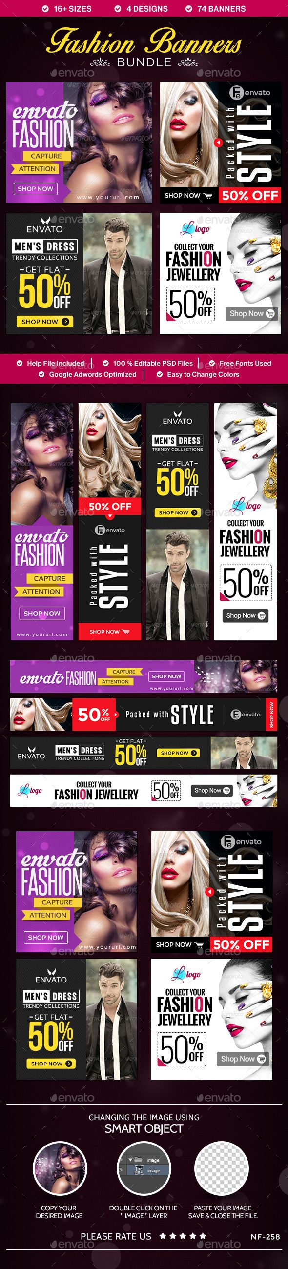 Fashion Banners Bundle - 4 Sets Download: http://graphicriver.net/item/fashion-banners-bundle-4-sets/10496419?ref=ksioks