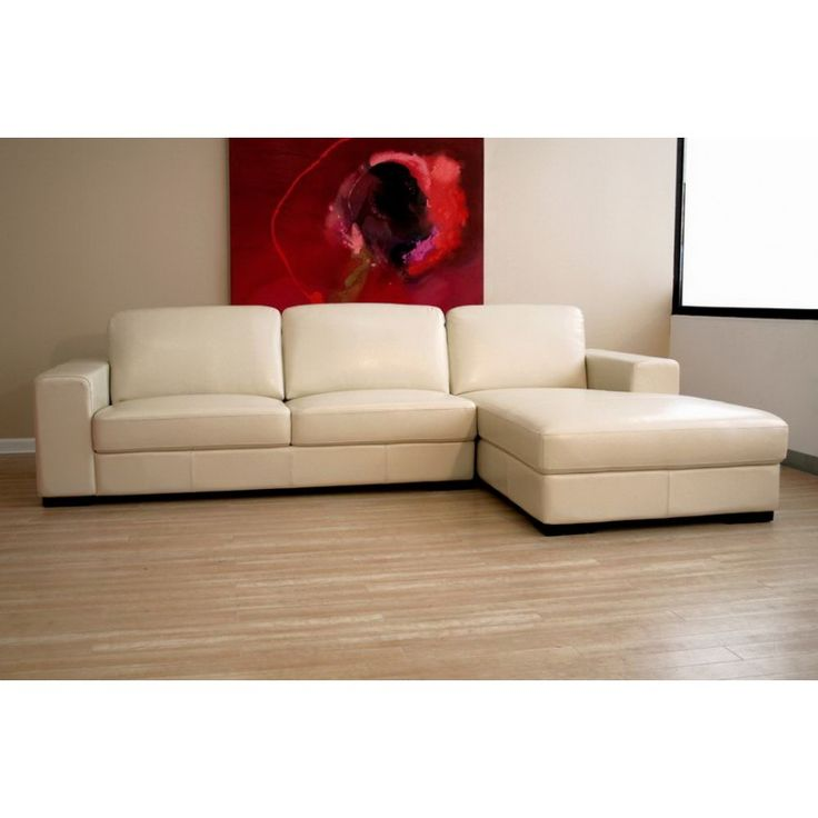 25 best ideas about cream leather sofa on pinterest - Living rooms with leather sectionals ...
