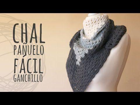 Tutorial Chal Fácil para Principiantes Ganchillo | Crochet