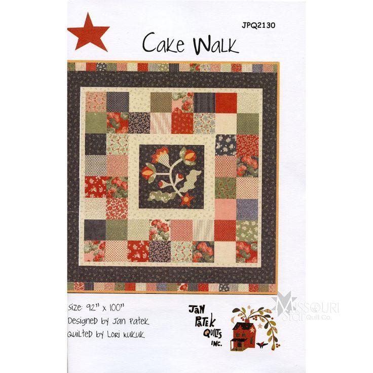 Cake Walk Pattern - Jan Patek Quilts - Jan Patek Quilts