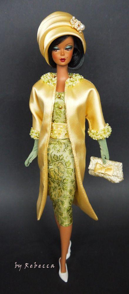 OOAK Fashion for Silkstone Barbie and Victoire Roux by Rebecca #Rebecca