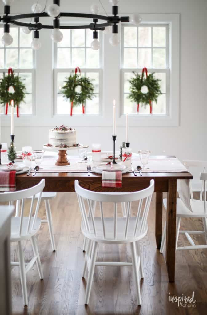 Inspired By Charm With Michael Wurm Jr Inspiredbycharm On Pinterest Christmas Table Decorations Table Decorations Decor