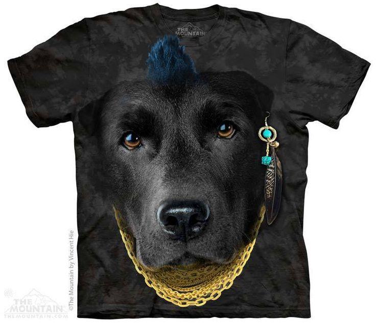 PRIKID - Bad Attitude Black Lab T-Shirt, €27.00 (http://prikid.eu/bad-attitude-black-lab-t-shirt/)