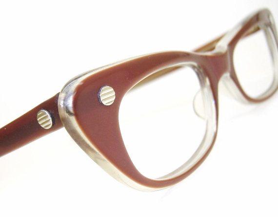 Vintage Retro 1950s Cat Eye Glasses Frame by Vintage50sEyewear
