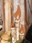 Edelrostshop - Wohn und Garten Dekoartikel - Flammen in Edelrost