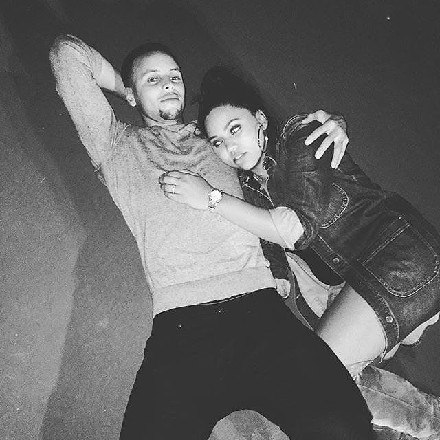 Cute Pictures of Stephen Curry and His Wife, Ayesha | POPSUGAR Celebrity