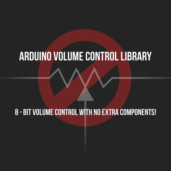 """DEMONSTRATION VIDEO: <a href=""""https://www.youtube.com/watch?v=4wkMY6DDPDw"""" target=""""_blank"""">https://www.youtube.com/watch?v=4wkMY6DDPDw</a>  I've devised a trick to give the standard Arduino Tone() function 1024 smooth volume levels with ZERO extra components by using PWM at an ultrasonic frequency.  This allows for programmatic control of a square wave's volume with nothing but a speaker c..."""