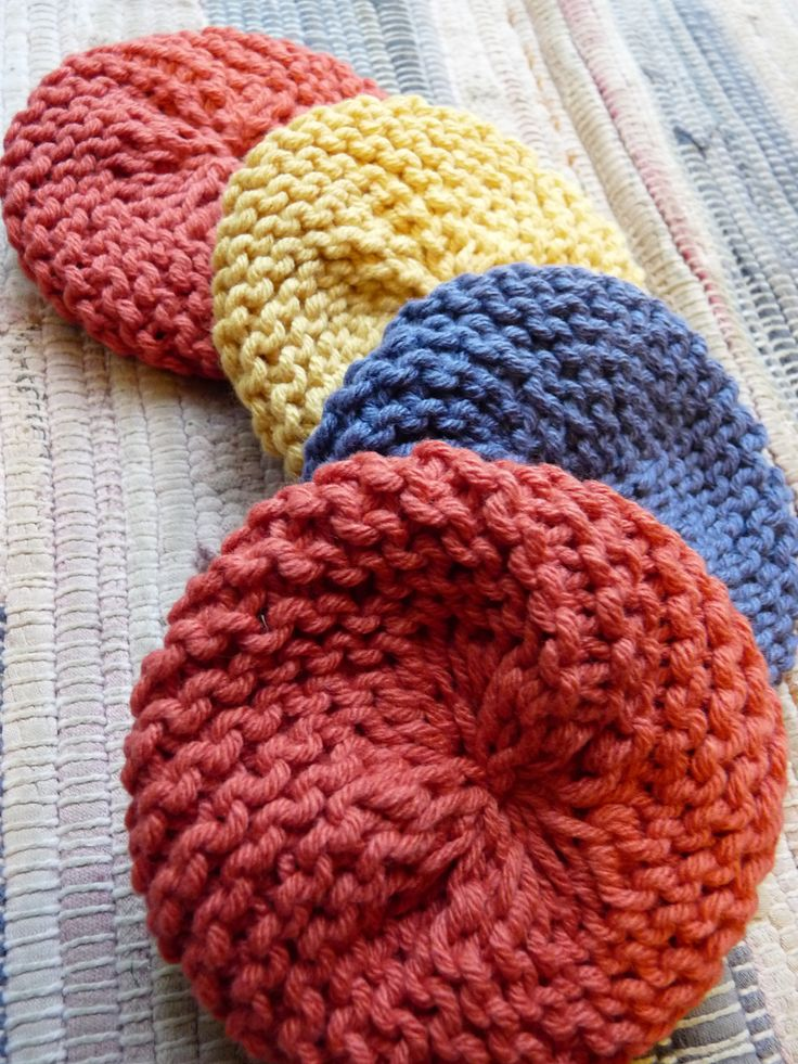 Attractive Knitted Scrubbie Pattern Image Collection - Easy Scarf ...