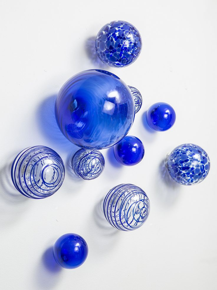 Worldly Goods Set Of 10 Glass Wall Spheres Cobalt At Myhabit Decor Pinterest Set Of