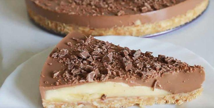 Ha van 15 perced, káprázatos csokis banános finomságot készíthetsz sütés nélkül!