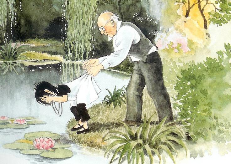 Linnea in Monet's Garden by Christina Bjork and Lena Anderson