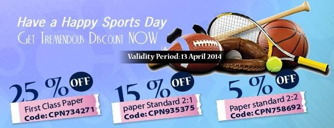 Get any type of writing services with an awesome discount prices.. Quality: Perfect Writing Get your coupon codes now