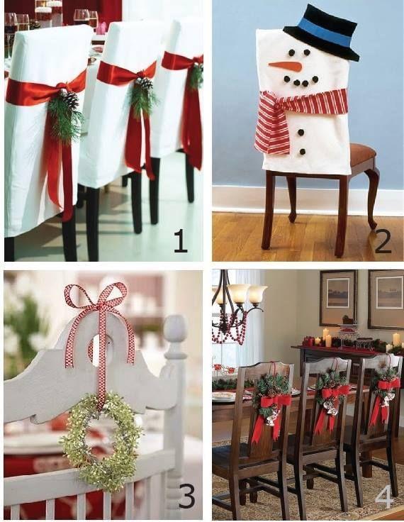 Furniture decor for Christmas!
