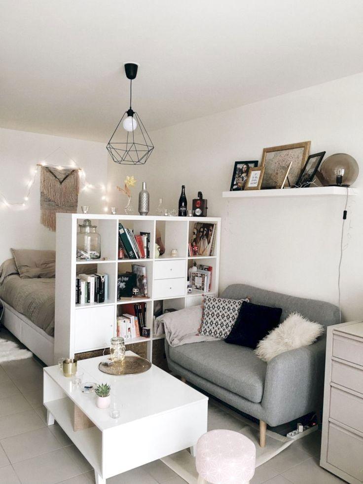 53 Stunning Apartment Studio Decor Ideas Studio Apartment
