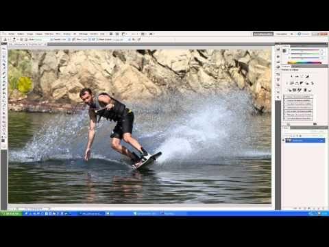 Photoshop - Connaître les outils de base pour traiter 90% des photos - Partie 01/02 - YouTube