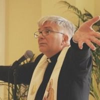 """Audio of Paulist Fr. Bruce Nieli's homily on Sunday, Oct. 23, 2016, at the University Catholic Center at the University of Texas at Austin.  Snip: """" ... God clothes us in mercy. ... All of us need to be clothed with the cloak of mercy ... We are all poor sinners in need of mercy. ... """""""