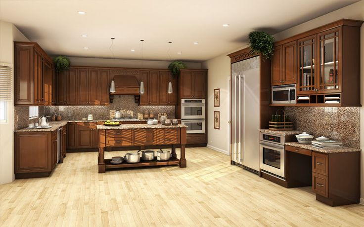 All Solid Wood Kitchen Cabinets 10x10 FULLY ASSEMBLED ...