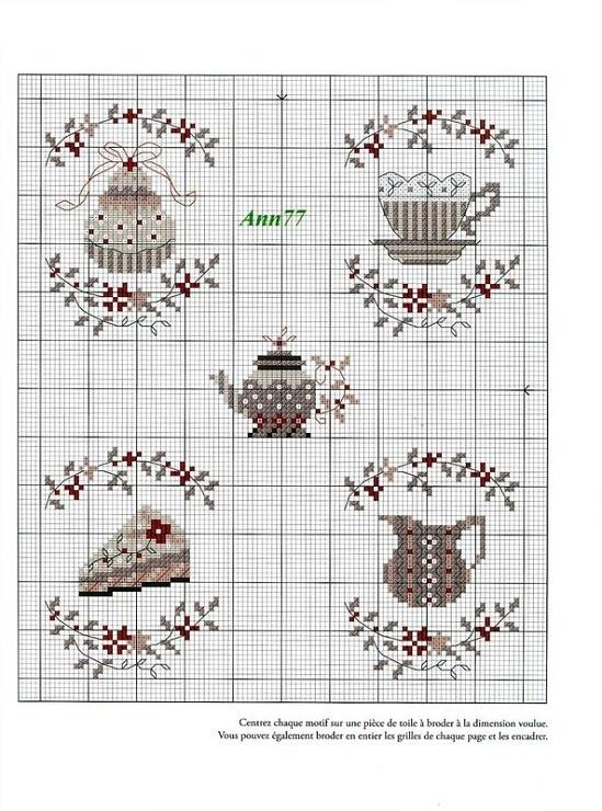 teacup, cakes