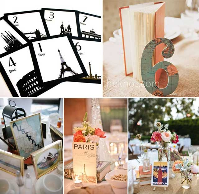 Blog de los detalles de tu boda   Bodas con temática viajera   http://losdetallesdetuboda.com/blog/bodas-con-tematica-viajera/