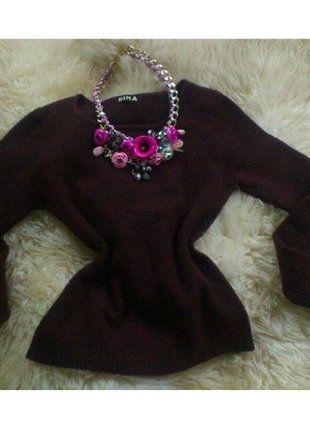 Kupuj mé předměty na #vinted http://www.vinted.cz/damske-obleceni/s-dlouhymi-rukavy/7755240-cokoladovy-chlpaty-sveter-s-dlhym-rukavom