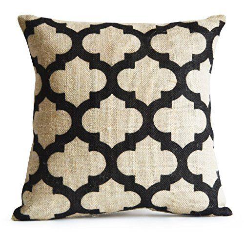 Trellis Burlap Pillow Cushion Cover Decorative Throw Pill... https://www.amazon.com/dp/B015B21PG4/ref=cm_sw_r_pi_dp_VTauxbFKW16QW