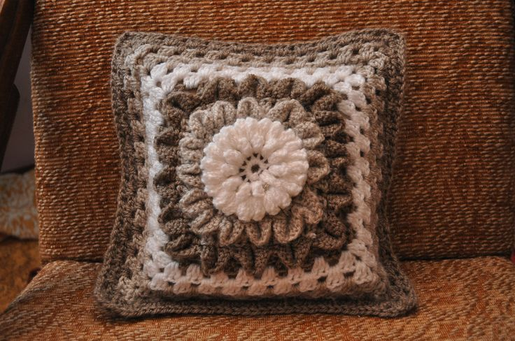 crochet pilow
