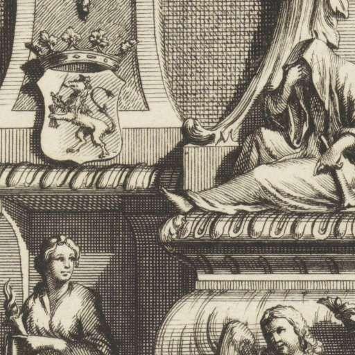 Grafmonument voor Jacob Boreel, Jan Goeree, Simon Schijnvoet, 1697 - Rijksmuseum