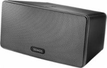 SONOS - PLAY:3 Wireless Speaker for Streaming Music - Black - Larger Front