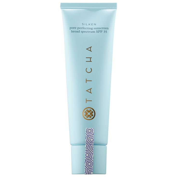 Silken pore perfecting sunscreen broad spectrum spf 35 by tatcha is a