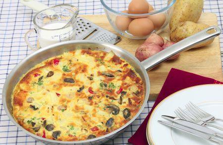 Omelette de Calabaza – Club Adelgaza Bien