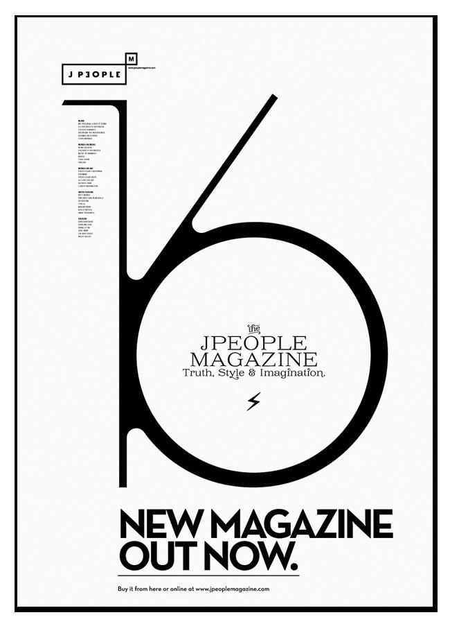 Jpeople Magazine №16 Poster - Ștefan Łucuț — senior graphic designer