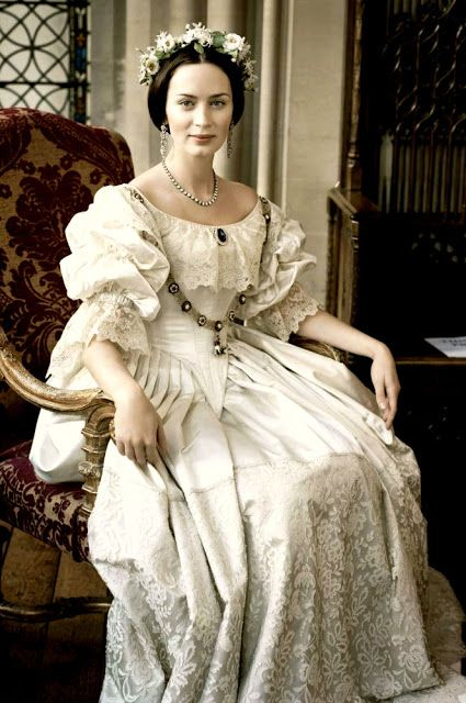 Queen Victoria (Emily Blunt)/ The Young Victoria/ Costume Design by Sandy Powell