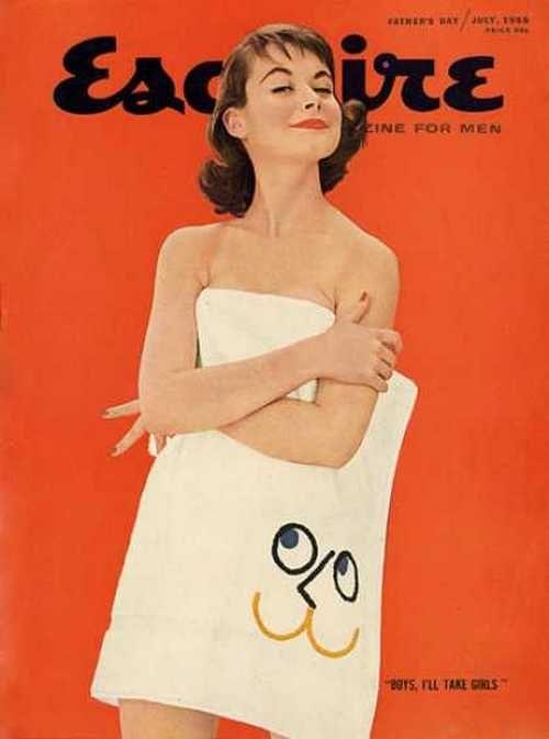 Esquire magazine, July 1955.
