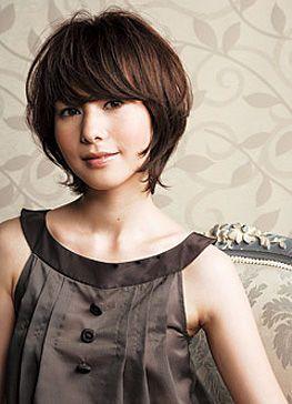 吉瀬美智子ヘア!大人ショートの髪型・ヘアスタイル -50代 ヘアスタイルの参考