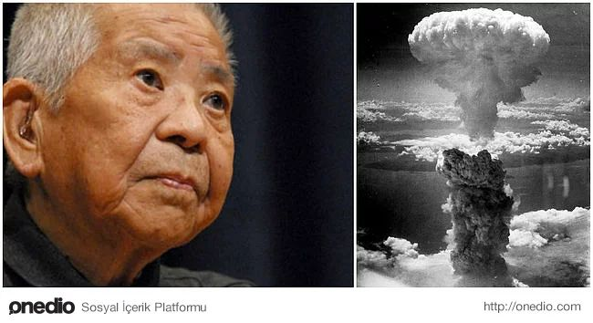 Tsutomu Yamaguchi Hiroşima ve Nagazaki atom bombalarından sağ kurtuldu. Hiroşima'ya bomba vurduğu sırada bir iş için orada olan Yamaguchi, pek çok yara almasına rağmen sağlıklı durumdaydı. Olaydan 3 gün sonra Nagazaki'ye geri dönen Yamaguchi, patronu ile olayı tartışırken bu sefer ikinci bomba vurdu.